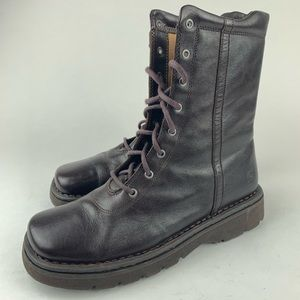 Born Leather Boots Women's Sz 9.5 Brown